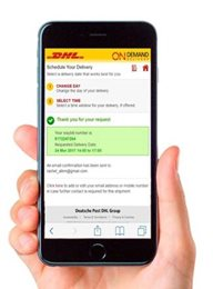 DHL Express On-Demand Delivery - Krok 4